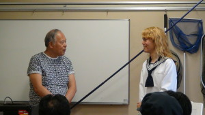 海あそび塾トークイベント2015.07.05荒俣先生とのトーク